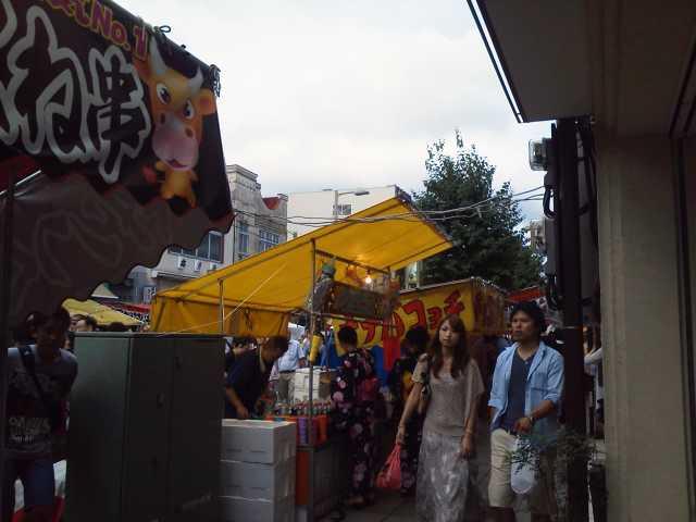 三島夏祭り開催中