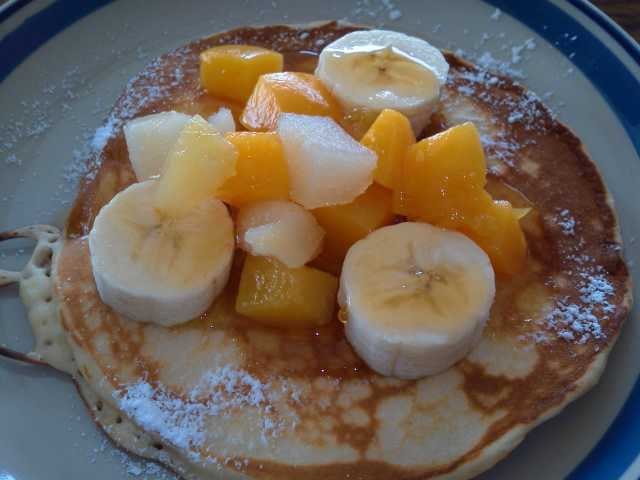 ザッ、定番朝食