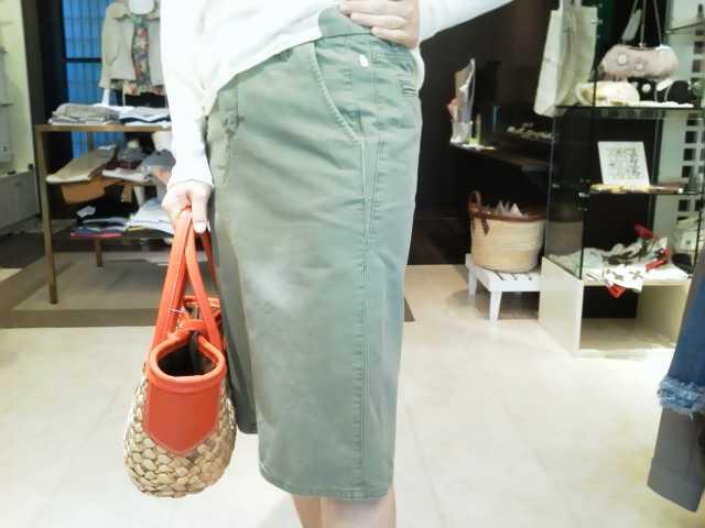 「カーライフガーデン」のcotton<br />  スカート