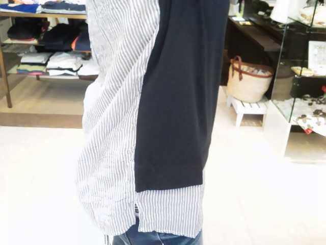 初めてまして!「ジェットレーベル」のシャツ付きプルオーバー