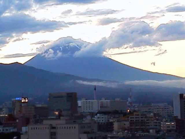 祝富士山世界遺産(今日の富士山)