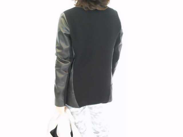 「シビリゼ」羊革ニットジャケット