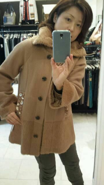 『ヴェロフォンナ」シャギーコート