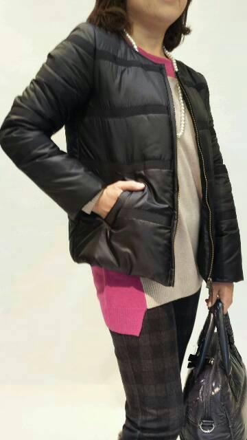 『シビリゼ』中綿ジップアップジャケットのコーディネート