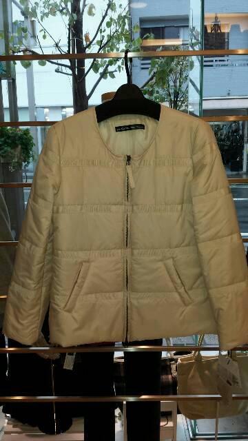 『シビリゼ』中綿ジップアップジャケット