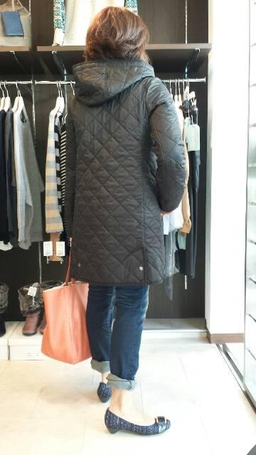 『フーフォレ』キルティングコート