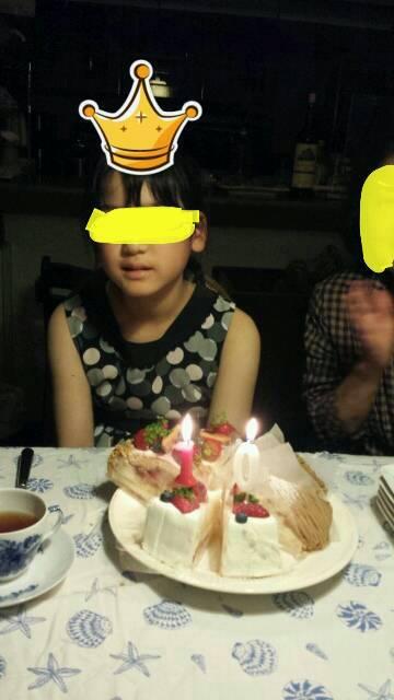 娘の誕生日〓