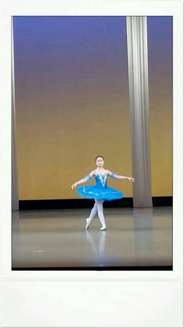 バレエの発表会でした。