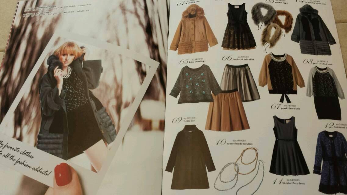 『ヴェロフォンナ』秋冬カタログできました